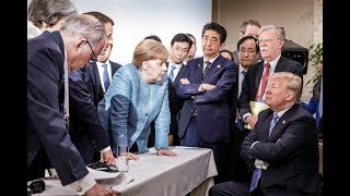 Trump makes early G-7 exit after tense trade disputes