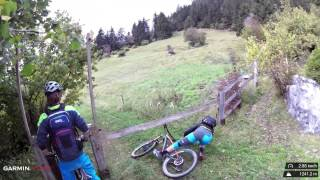 "Mountainbike Weidezaun ""Unterquerung"""