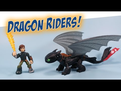 How to Train Your Dragon Riders New Hiccup & Toothless