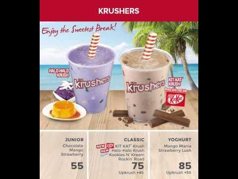 KFC Krusher Drink Video Board