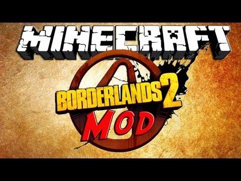 Minecraft 1.6.2 - Borderlands Mod!