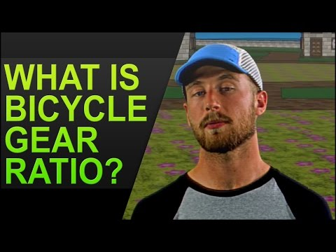 What is bicycle gear ratio?