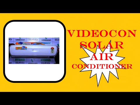 [ Hindi ] India's First Videocon Solar Air Conditioner New Updated News & Information 2017 - By TIIH