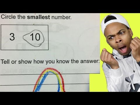 FUNNIEST KID TEST ANSWERS PART 18