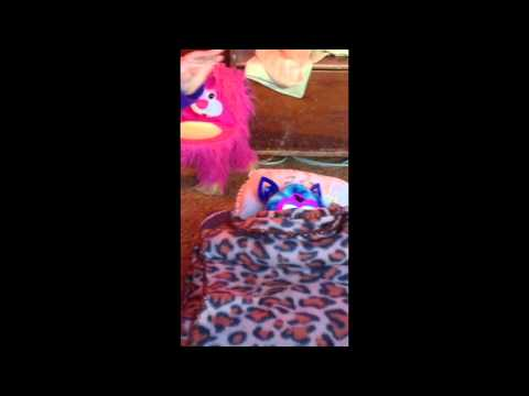 How to make a furby boom bed
