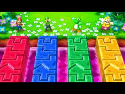 Mario Party Star Rush - All Mini Games