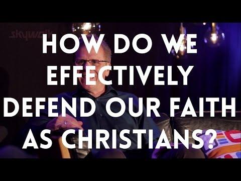 How do we effectively defend our faith as Christians? // Frank Turek