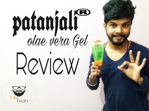 Patanjali  Aloevera Gel review - Life Tech