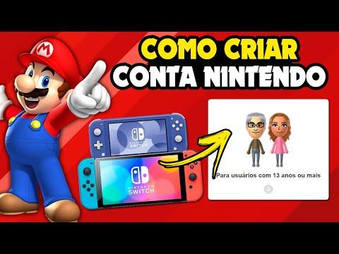 Nintendo Switch: Como criar CONTA NINTENDO e comprar com eShop card ou cartão de crédito