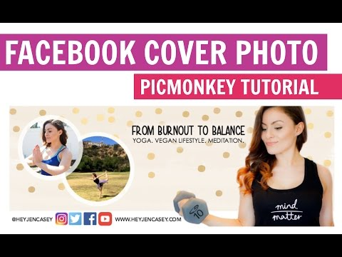 How to Design a Facebook Cover Photo | PicMonkey Tutorial