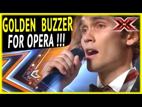Alexander sings Opera and get's GOLDEN BUZZER !!!