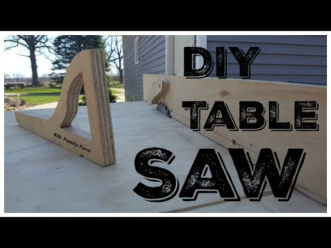 DIY Table Saw Using an Old Circular Saw