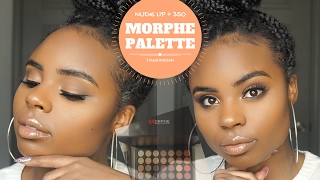 Spring Makeup Tutorial Peachy Glam Ft Morphe 35o Palette Videos Books
