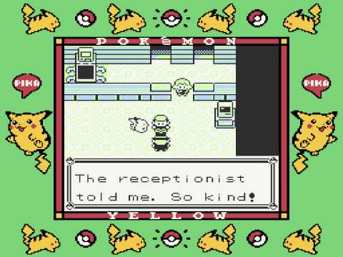 Pokemon Yellow Route 1 and Viridian City