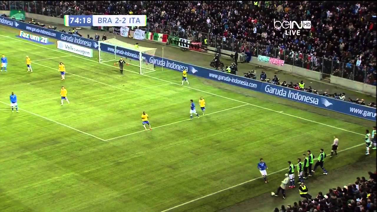 [國際足球友誼賽 Friendly]巴西 對 意大利 下半場 Brazil VS Italy 2nd HALF