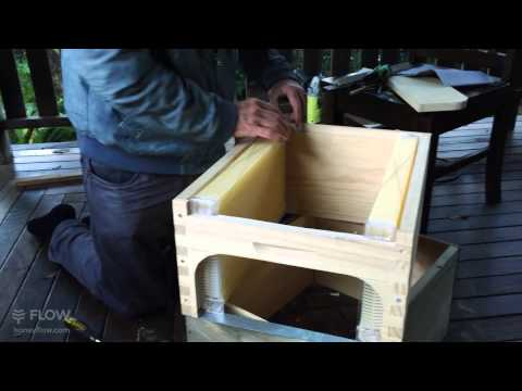 Modifying a 10 frame Langstroth Box to fit 7 Flow™ Frames