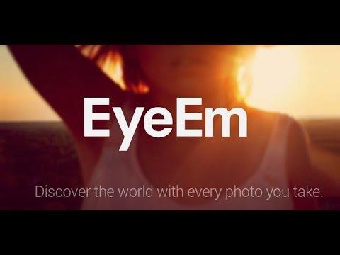 Como usar o aplicativo Eyeem para vender fotos
