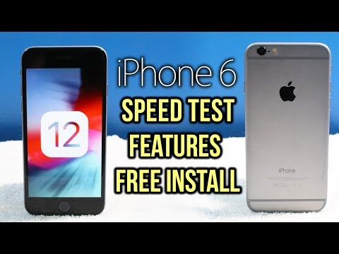 iOS 12 on iPhone 6: Speed Test from iOS 11, How To Install (FREE) & Features Overview!