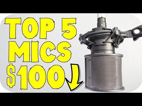 Top 5 Best Budget Microphones Under $100