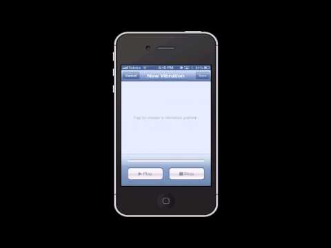 How to set a vibration with your ringtone (iPhone)