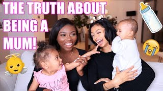 HONEST CHAT ABOUT BEING A MUM! #MUMLIFE Q&A #ad