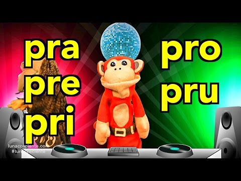 Xxx Mp4 Sílabas Pra Pre Pri Pro Pru El Mono Sílabo Videos Infantiles Educación Para Niños 3gp Sex