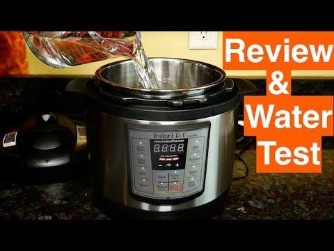 Instant Pot Mini Lux Review Water Test