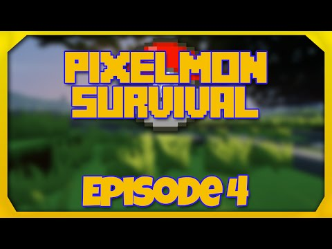 Pixelmon 4.1.0 Survival - Episode 4 -  Pokeballs!