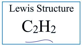 lewis dot structure of c2h2 or chch acetylene or ethyne music jinni rh musicjinni com H2O Dot Diagram Lewis Dot Diagram