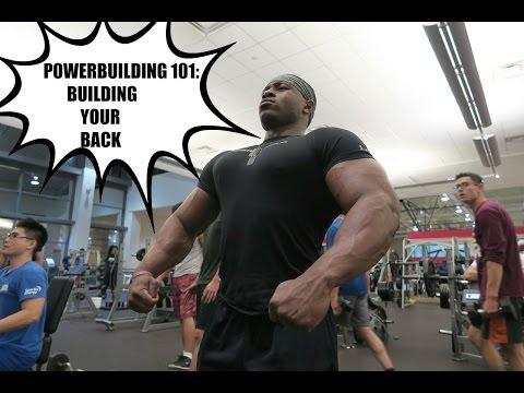 Powerbuilding 101: How to Get A Bigger Back