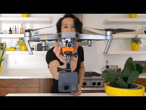 How to FLY GoPro Fusion 360 w/ DJI Mavic Pro and Post workflow (Part 1)