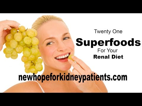 21 Superfoods For Your Renal Diet