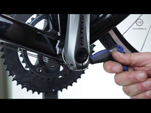 Remove A Shimano Hollowtech Crankset On A Bike