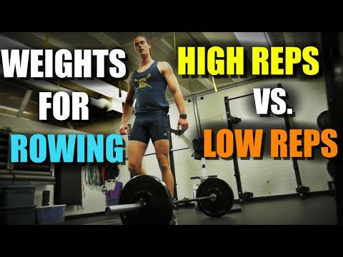 High Reps vs. Low Reps For Rowing (Weightlifting)