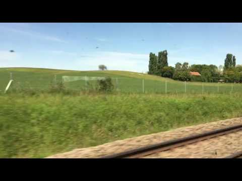 Paris-Cannes train journey