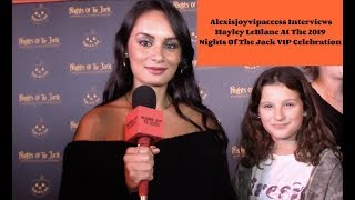 "Hayley LeBlanc Talks Halloween Plans & ""Annie vs Hayley"" - Interview With Alexisjoyvipaccess"