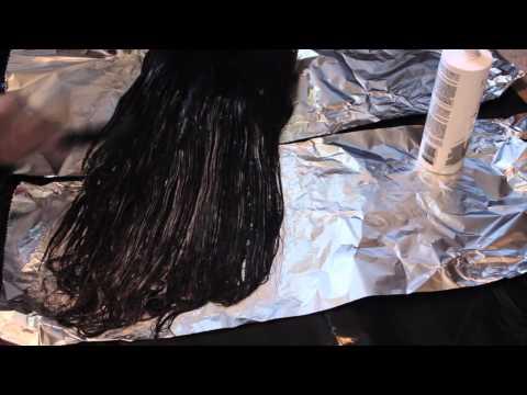 HAIR DIY| Lighten Hair Extensions Using Developer (WITHOUT BLEACH)