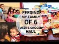 Download Feeding a family of 6 with $75/week   Aldi's grocery haul 2018 MP3,3GP,MP4