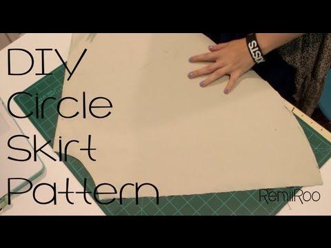 DIY: Circle Skirt Pattern | RemiiRoo