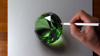 Download Drawing Emerald, so Realistic that... 🤑 Video