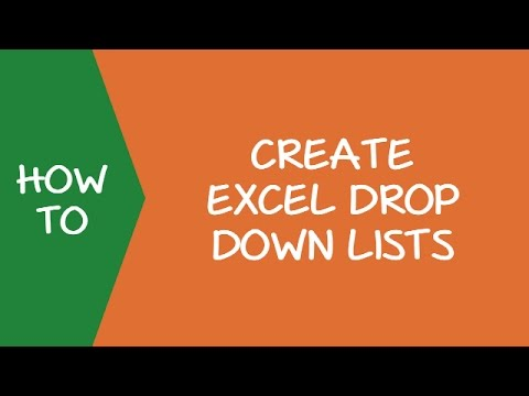 Creating an Excel Drop Down List (a Step-by-step Guide)