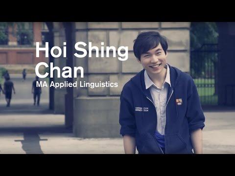 Students from Hong Kong at the University of Birmingham