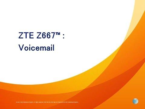 ZTE Z667™ : Voicemail