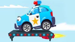 Carros Infantiles Coche De Policía Y Servicio De Coche Coches