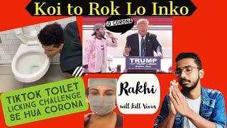 Corona India Viral Video   Funny Indian Media 😂😂