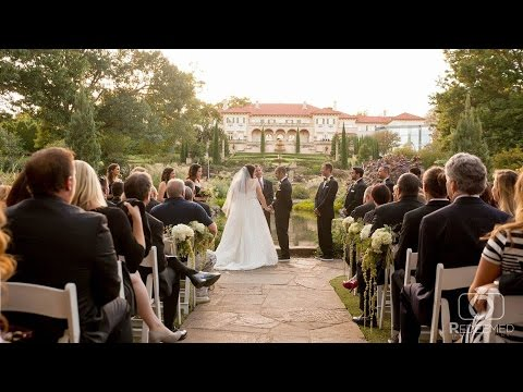 Could it get any prettier than this? Mary + Phil's Wedding Film at Philbrook Museum in Tulsa, OK