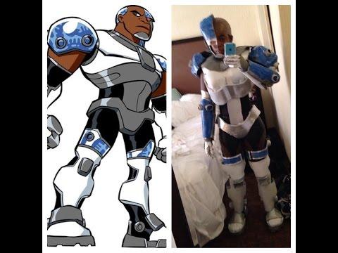 Teen Titans Cyborg Cosplay
