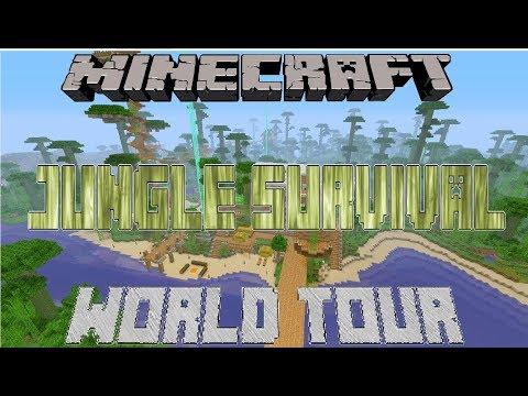 Minecraft Best World Tour Jungle Survival (Xbox One)