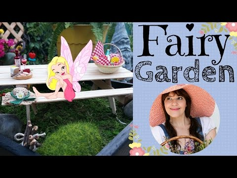 Fairy Garden Homes & Furniture!!! ~ DIY