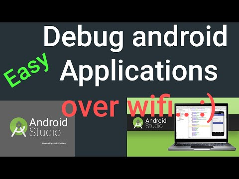 Run/ Install/ Debug Android Applications over Wifi